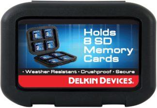 Delkin 8 Card Carrying Case