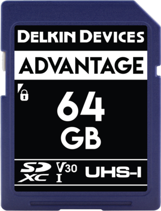 DELKIN SD ADVANTAGE 660X R90/W90 64GB