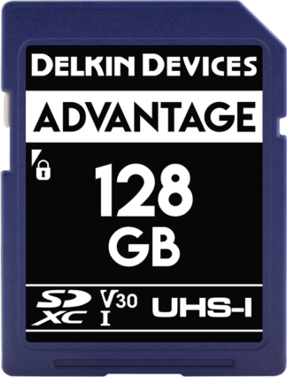 DELKIN SD ADVANTAGE 660X UHS-I U3 (V30) R90/W90 128GB