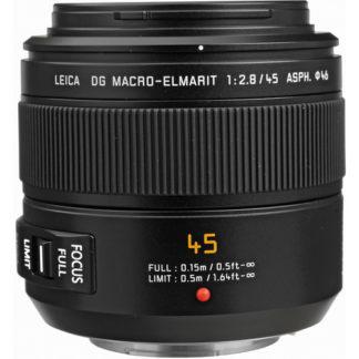 Panasonic Leica DG Macro-Elmarit 45mm f/2.8 Lens