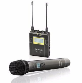 SARAMONIC UWMIC9 (HU9+RX9) UHF handheld wireless microphone system