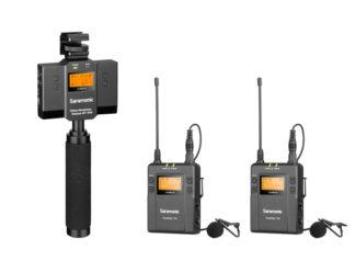 SARAMONIC UWMIC9 KIT 13 (TX9 +TX9+SP-RX9) Microphone System