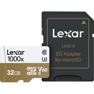 Lexar 32GB Professional 1000x UHS-II microSDHC Memory Card