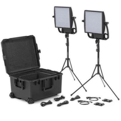 Litepanels Astra 6X Traveler Bi-Color Duo 2-Light Kit