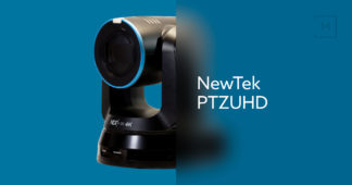 NewTek PTZUHD - UHD over NDI camera