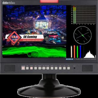 DATAVIDEO TLM-170V MONITOR med WFM/VECTOR SCOPE