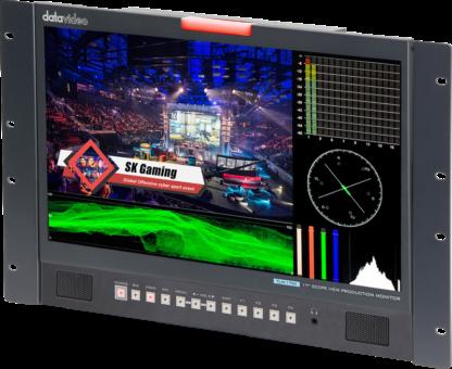 DATAVIDEO TLM-170VR MONITOR med WFM/VECTOR SCOPE