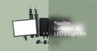 NANLITE LUMIPAD 25 LED 2 LIGHT KIT