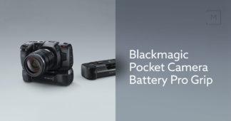 Blackmagic Pocket Pro Grip kamerabatteri