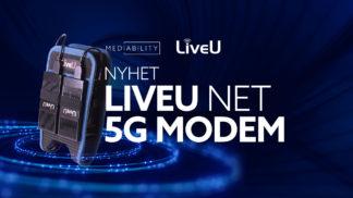 Nyhet fra LiveU 5G modem