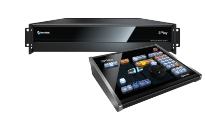 NewTek 3Play 3P1 replay system med kontrollpanel