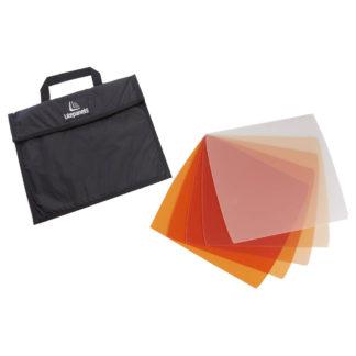 Litepanels Astra 5-piece CTO Gel Set with Bag