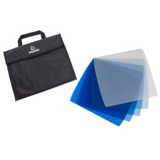 Litepanels Astra 5-piece CTB Gel Set with Bag