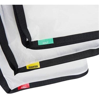 Litepanels Snapbag Cloth set Gemini 1x1. 1/4. 1/2. Full