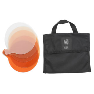 Litepanels Sola 6 5-Piece CTO Gel Set with Gel Bag