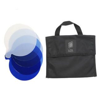 Litepanels Inca 6 5-Piece CTB Gel Set with Gel Bag