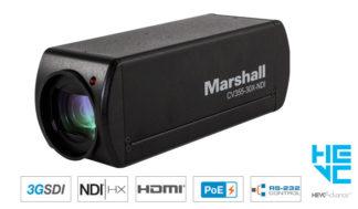 Marshall CV355-30X-NDI 30X Zoom NDI® Camera
