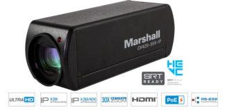 Marshall CV420-30X-IP 30X Zoom UHD IP Camera