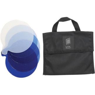 Litepanels Inca 12 5-Piece CTB Gel Set with Gel Bag