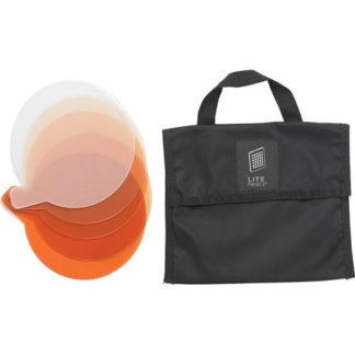 Litepanels Sola 9 5-Piece CTO Gel Set with Gel Bag