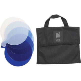 Litepanels Inca 9 5-Piece CTB Gel Set with Gel Bag