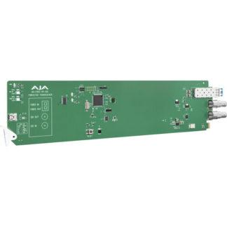 AJA openGear 12G-SDI/LC Single Mode LC Fiber Transceiver