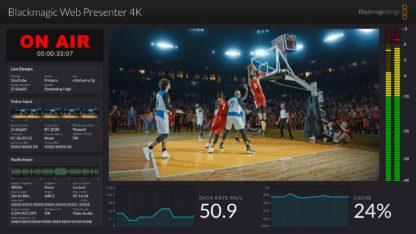 Blackmagic Web Presenter 4K UI