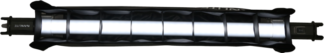 NANLITE EGGCRATE+BARNDOOR FOR TUBELIGHT 15 59CM