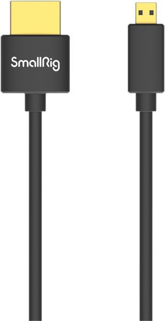 SMALLRIG 3043 HDMI CABLE ULTRA SLIM 4K 55CM (D TO A)